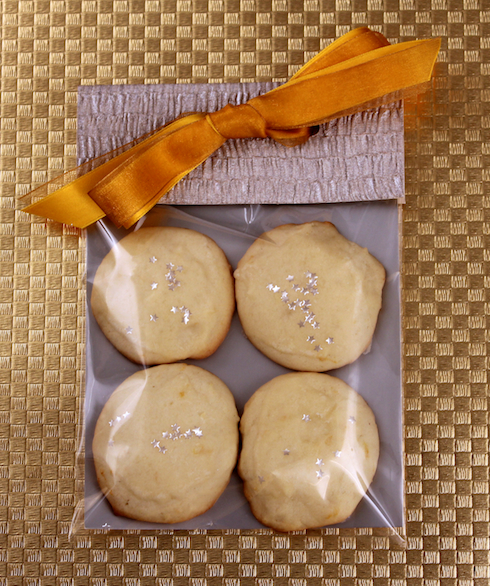 Star Moon Cookies in a Packet