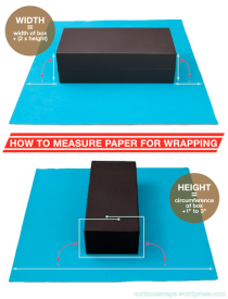 How to Properly Measure Paper for Wrapping