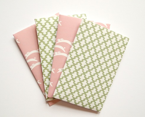 Japanese-pattern envelopes, from Lemonni