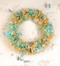 Spring Watermark-Tissue Wreath