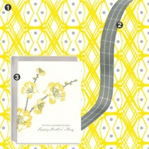 Mother's Day Yellow + Grey