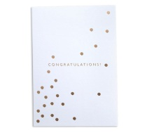 Congratulations! Card by Brown Paper Designs