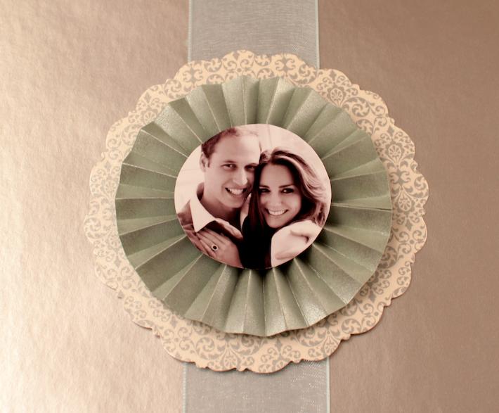 Wedding Medallion detail