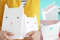 Cat Gift Bags, WonderlandRoom
