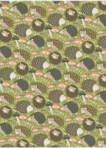 Hedgehogs Wrapping Paper, Paper Source