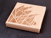 Zebrawood Veneer Gift Decoration