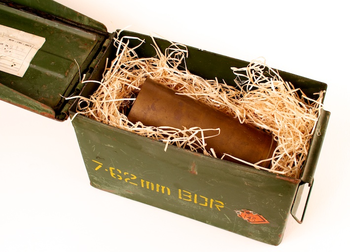 76mm Shell in ammo box
