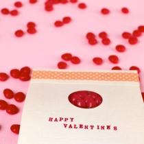 Peekaboo Matchbook Valentine