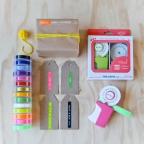 Motex Embossing Label Maker and tapes, from Lark