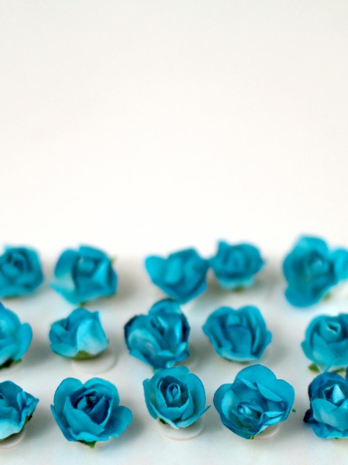 Paper roses from Dollarama