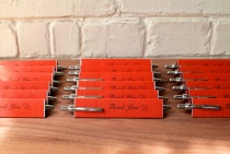 pen wedding favors and escort cards