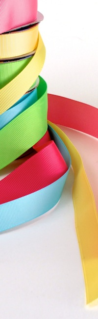 bright ribbon stack