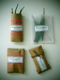 packaged garden chilies from new domestic
