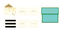 Kate Spade gift enclosure cards