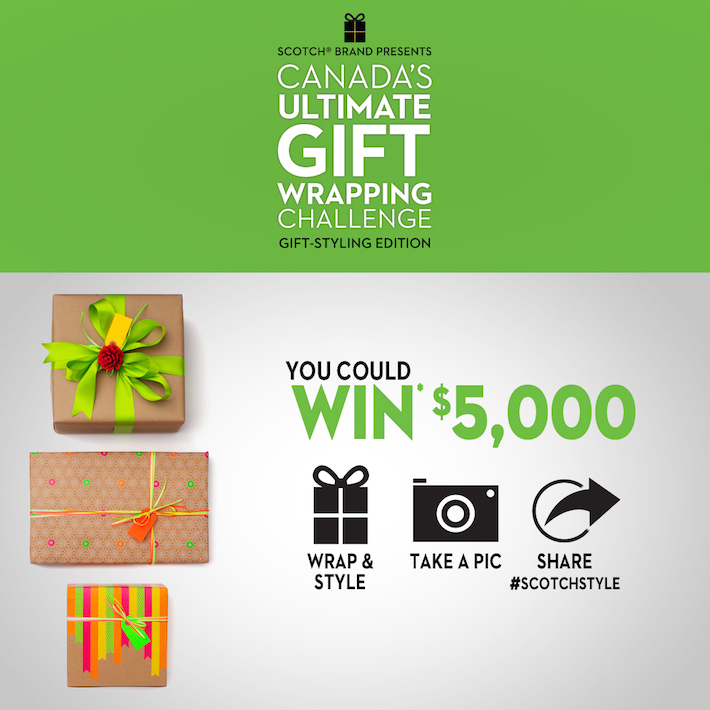 Ultimate Gift Wrapping Challenge presented by Scotch Brand