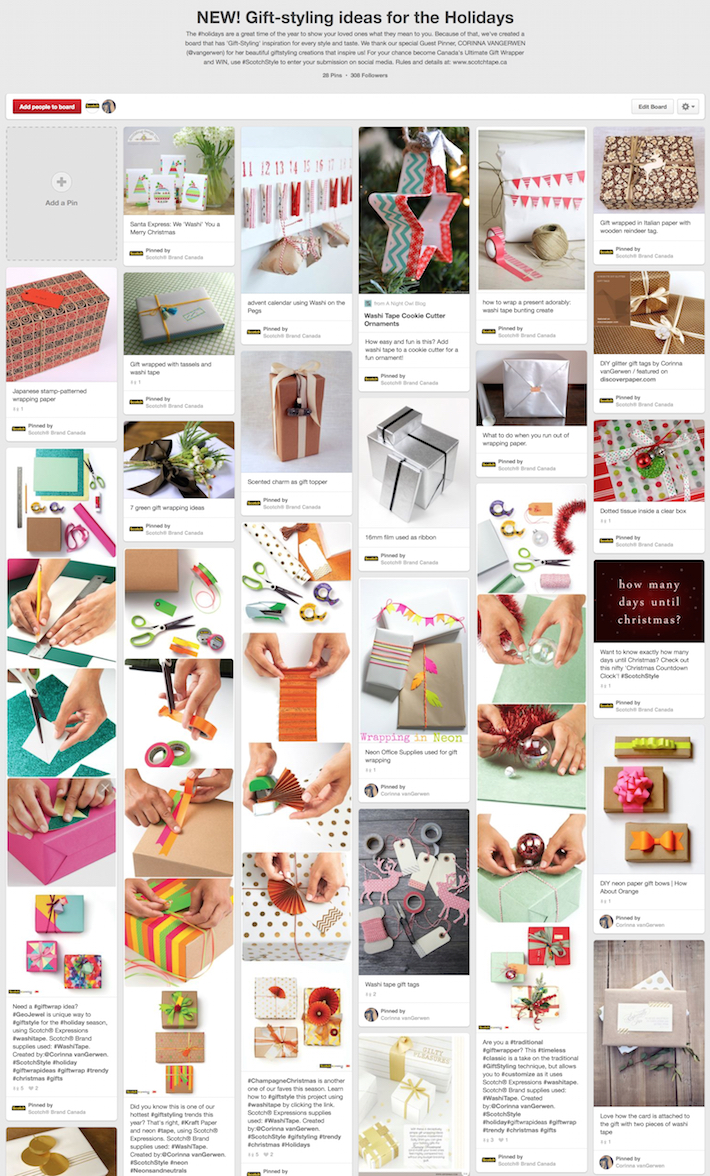 (41) NEW! Gift-styling ideas for the Holidays on Pinterest | 28 Pins