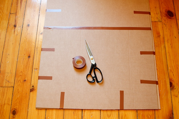 How to wrap a poster -4