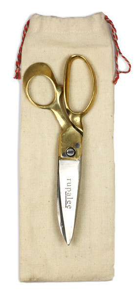 Large gold Rupalee scissors