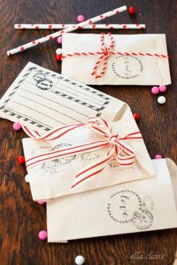 5. Valentine envelope/treat bag printable