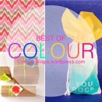 5 Colourful Ways to Wrap Presents | Corinna Wraps