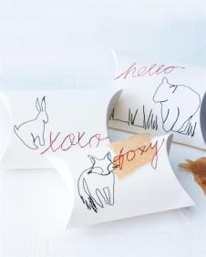 DIY Sewn Pillow Boxes