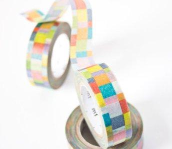 1. Mosaic Bright washi tape