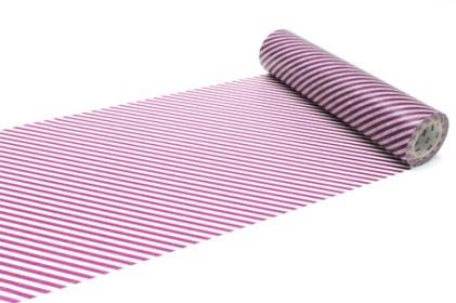 13.200 mm purple stripe washi tape