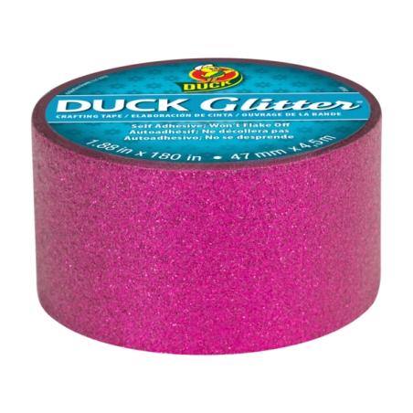 14. Duck glitter roll in pink