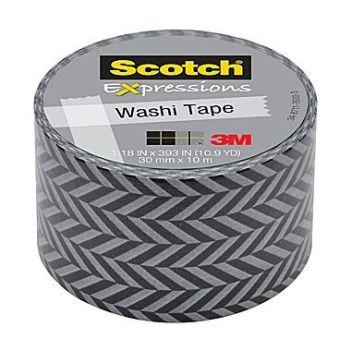 18. Scotch Expressions Zig Zag washi tape