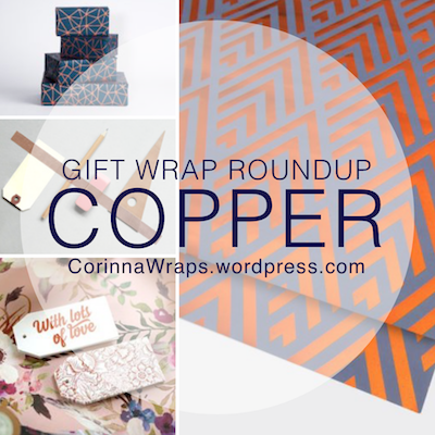 Copper Gift Wrapping | CorinnaWraps.wordpress.com