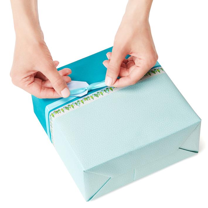 DIY Colour-Block Gift Wrapping with Washi Tape Detail   CorinnaWraps.wordpress.com