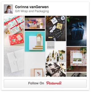 Gift Wrapping & Packaging | Corinna vanGerwen on Pinterest