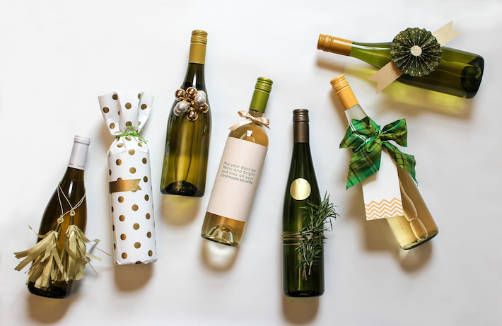 In any of my design work, whether for clients or for myself, I'm most proud when I can find a solution that's highly creative and effective while keeping resources to a minimum. This is totally inexpensive (around $5-bucks). Plus it's a great way to recycle a wine bottle. It's been a record.